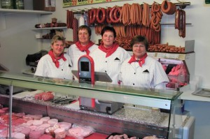 Klarmann Team Wursttheke